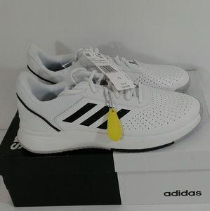 NWT Mens Adidas White Courtsmash Sneakers Size 11